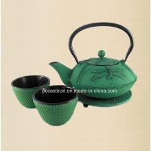 LFGB FDA Ce aprovado ferro fundido Teapot Fabricante a partir de China