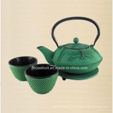 LFGB FDA Ce aprobado hierro fundido tetera Fabricante de China