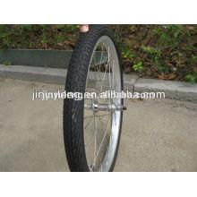 Rueda de bicicleta del neumático de goma del pneumait del acero de carbono de la aleación 12/14 pulgadas