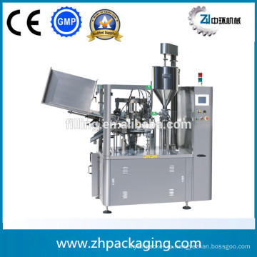 Машина для наполнения и запайки пластиковых труб ZHF-100YC