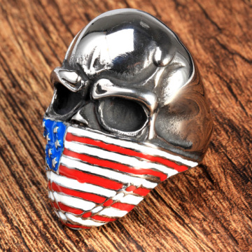 Custom fashion men mask National flag rings