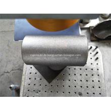 Nahtloses Reduzier-T-Stück aus Kohlenstoffstahl