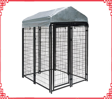 welded dog kennel