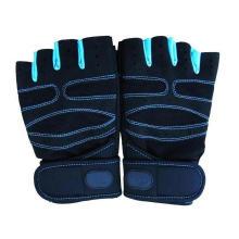 Nicht Beleg-breathable Eignung-Trainings-Gymnastik-Arbeits-halbe Finger-Gewichtheben-Handschuhe
