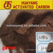 HY9512 sandblasting garnet sand 80 grit