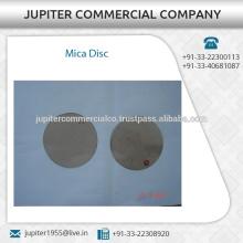 Preciouly Design Excellent Finish Mica Disc Price in india