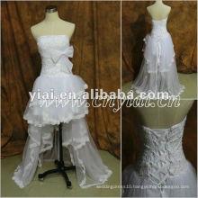 JJ2860 Beaded Front Short and Back Long Bridal Dress 2013