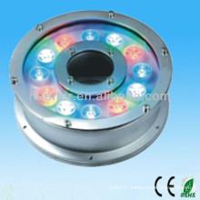 china supplier new product 100-240v 12V 24V 9w 12w ip65 RGB led mini light underwater