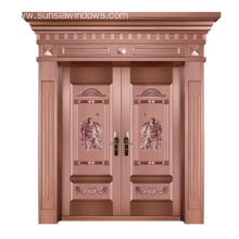 Copper Door Copper Surface Steel Security Door