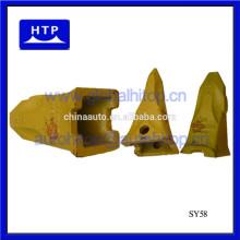 Heißer Verkauf Bagger Teile Eimer Zähne Adapter Typen für Sany 60116437