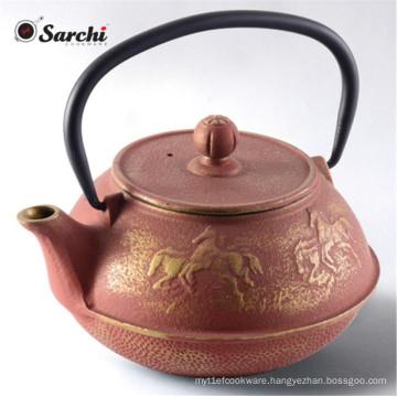 Wholesale 800ml chinese cast iron teapot