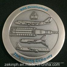Boeing Company Antique Nickel Herausforderungsmünze
