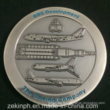 Boeing Company Antique Nickel Challenge Coin