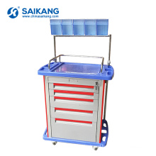 SKR054-AT05 Economic Hospital Medical Workstation Clinic ABS Medicine Nursing Trolley