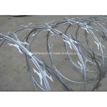 Electric Galvanized/Hot-Dipped Galvanized Razor Barbed Wire