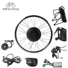 moteur électrique moyeu de roue kit de conversion e-bike kit de moteur de bicyclette