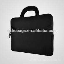 "Para 15 ""laptops e Chromebooks, portátil Neoprene bolsa de ombro Strap Case Bag Handle Acessório Pocket"