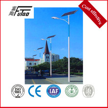Poste de luz de calle de energía solar de 6-12 metros