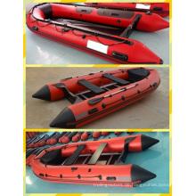 4,2 m heißen roten PVC Schlauchboot zum Verkauf