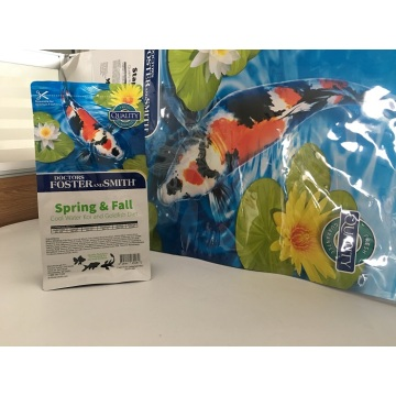 Koi Feed Packaging Bag Met Slider Rits