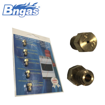 Stainless steel nozzle tembaga, Pilot gas nozzle