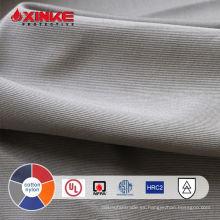 tela de protección contra el fuego de arco de nylon de algodón con IEC 61482 para ropa de trabajo de soldador