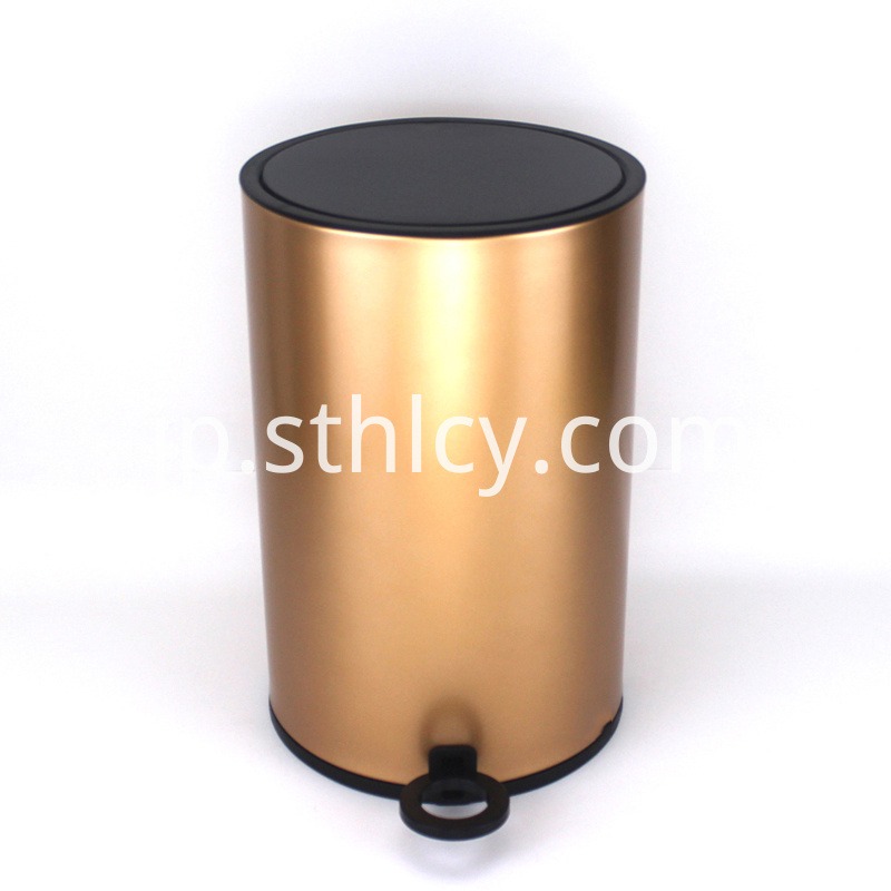 410 Household Kitchen Stainless Steel Garbage Can
