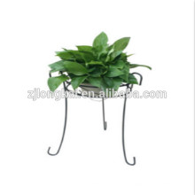 Diseñador de moda de metal blcak jardín artificial flor pantalla
