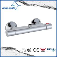 Bathroom Shower Brass Chromed Anti-Scald Thermostatic Tap (AF4156-7)