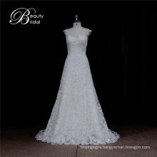 Simple Model A Line Wedding Dress Patterns