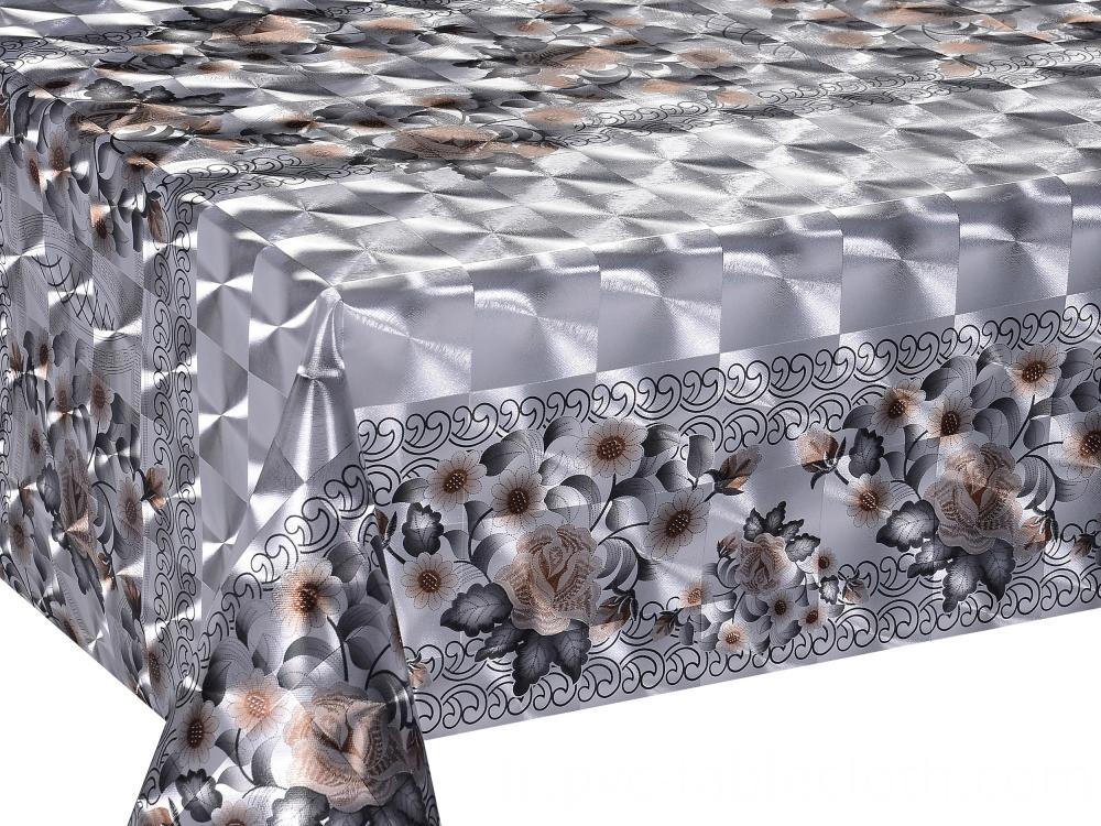 Double Face Silver Gold Tablecloth 3