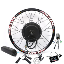 CE Approved Aluminum Magnesium Alloy Hub MTX wheel assembly 48V 1500W Ebike Hub Motor Kit