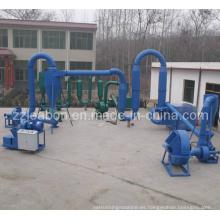 Línea de Fabricación de Briquetas de Carbón (ZBJ-50, ZBJ-80)