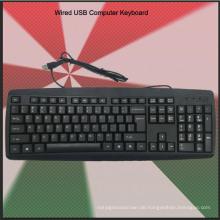 Ultra Slim Günstige Wired Tastatur (KB-1805)