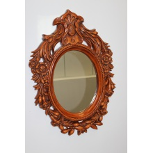 European wall mirror frame