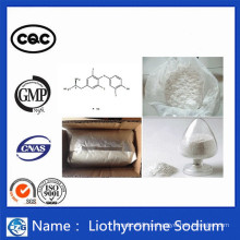 Gewichtsverlust Steroid Hormon Pulver T3 Liothyronin Natrium