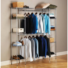 Modern Free Standing Expandable Bedroom Closet Organizer