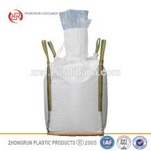 Fibres de doublure en PE - PP blanc Sac jumbo de qualité alimentaire avec doublure PE / sac en vrac avec boucles croisées conner avec sac intérieur en plastique à l'intérieur