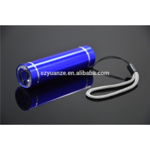 Mini lanterna elétrica conduzida, mini lanterna conduzida, mini lanterna elétrica lisa do plano