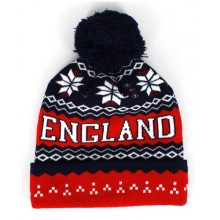 England Snowflake Knitted Hat