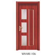 Faible qualité Excellente qualité Hotsale Porte en mélamine (WX-ME-106)
