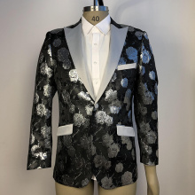 New design anti-wrinkle party dress suit for men