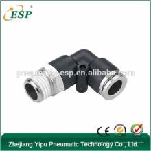 Ningbo ESP pvc accesorio de tubería codo macho / hembra con funda de latón