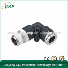 ningbo ESP pvc pipe fitting male/female elbow with brass sleeve