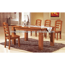 wooden dining table with 4 strong legs XDW1285