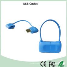 Cabo usb magnético multi-purpose usb cabo de extensão micro usb (ck-188)