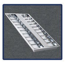 Ceiling Lamp 1220*600/T5/4X40W Recessed Mounted Grille Lamp