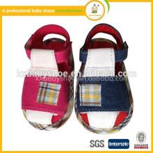 High quality boy sandal, new arrival baby sandal shoes, PU sandal