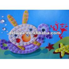 DIY мозаика искусство для подводного мира