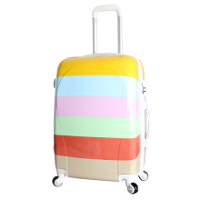 Travel Luggage ABS+PC PC Beauty Travel Case Trolly Suitcase